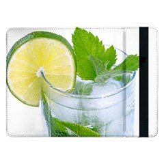 Cold Drink Lime Drink Cocktail Samsung Galaxy Tab Pro 12 2  Flip Case by Amaryn4rt