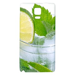 Cold Drink Lime Drink Cocktail Galaxy Note 4 Back Case by Amaryn4rt
