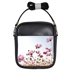 Flowers Plants Korea Nature Girls Sling Bags by Amaryn4rt