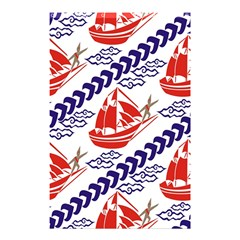Sailing Boat Shower Curtain 48  X 72  (small)  by Jojostore