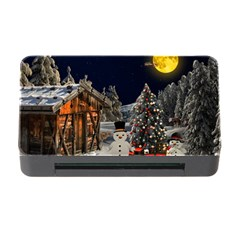 Christmas Landscape Memory Card Reader With Cf