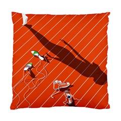 Shadow Standard Cushion Case (one Side) by Jojostore