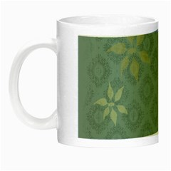 Shadow Flower Night Luminous Mugs by Jojostore