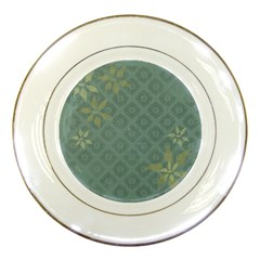 Shadow Flower Porcelain Plates by Jojostore