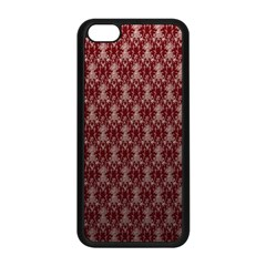 Red Vintage Apple Iphone 5c Seamless Case (black) by Jojostore