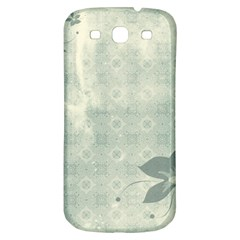 Shadow Flower Gray Samsung Galaxy S3 S Iii Classic Hardshell Back Case by Jojostore