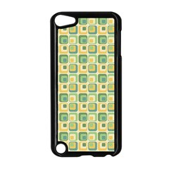 Square Green Yellow Apple Ipod Touch 5 Case (black) by Jojostore