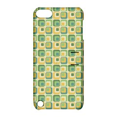Square Green Yellow Apple Ipod Touch 5 Hardshell Case With Stand by Jojostore