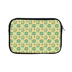 Square Green Yellow Apple Ipad Mini Zipper Cases by Jojostore