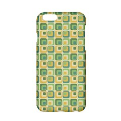Square Green Yellow Apple Iphone 6/6s Hardshell Case by Jojostore