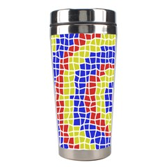 Red Blue Yellow Stainless Steel Travel Tumblers