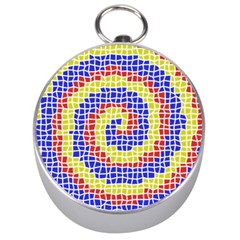 Red Blue Yellow Silver Compasses by Jojostore