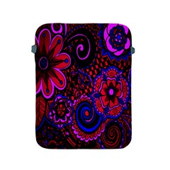 Sunset Floral Flower Red Pink Jewel Box Apple Ipad 2/3/4 Protective Soft Cases by Jojostore