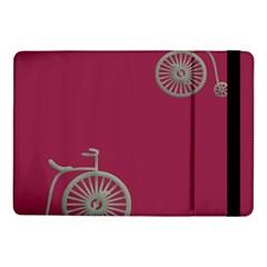 Rose Pink Fushia Samsung Galaxy Tab Pro 10 1  Flip Case by Jojostore