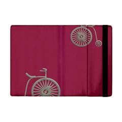 Rose Pink Fushia Ipad Mini 2 Flip Cases by Jojostore