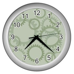 Engenerinhg Wall Clocks (silver)  by Jojostore