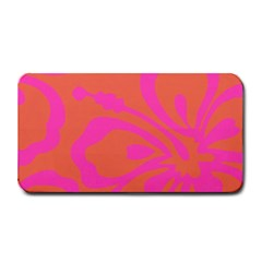 Flower Pink Orange Medium Bar Mats by Jojostore