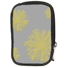 Flower Yellow Gray Compact Camera Cases by Jojostore