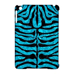 Skin2 Black Marble & Turquoise Marble (r) Apple Ipad Mini Hardshell Case (compatible With Smart Cover) by trendistuff
