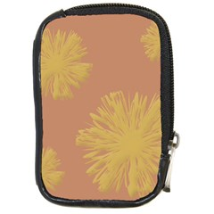 Flower Yellow Brown Compact Camera Cases by Jojostore