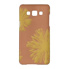 Flower Yellow Brown Samsung Galaxy A5 Hardshell Case  by Jojostore