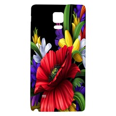 Flowers Bouquet Galaxy Note 4 Back Case