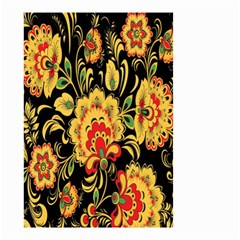 Flower Yellow Green Red Small Garden Flag (two Sides) by Jojostore
