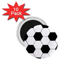 Foolball Ball Sport Soccer 1 75  Magnets (10 Pack)  by Jojostore