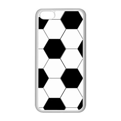 Foolball Ball Sport Soccer Apple Iphone 5c Seamless Case (white) by Jojostore