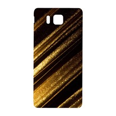 Gold Samsung Galaxy Alpha Hardshell Back Case by Jojostore