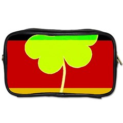 Irish German Germany Ireland Funny St Patrick Flag Toiletries Bags 2 Side by yoursparklingshop