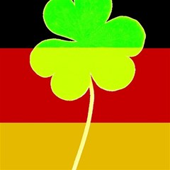 Irish German Germany Ireland Funny St Patrick Flag Magic Photo Cubes by yoursparklingshop