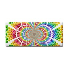 Color Background Structure Lines Cosmetic Storage Cases by Amaryn4rt
