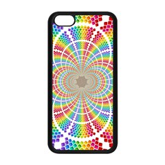 Color Background Structure Lines Apple Iphone 5c Seamless Case (black) by Amaryn4rt