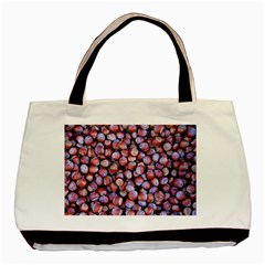 Hazelnuts Nuts Market Brown Nut Basic Tote Bag by Amaryn4rt