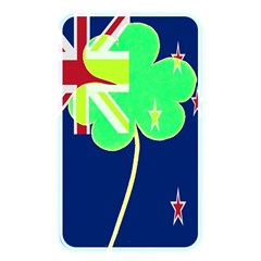 Irishshamrock New Zealand Ireland Funny St Patrick Flag Memory Card Reader by yoursparklingshop
