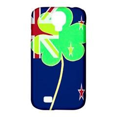 Irishshamrock New Zealand Ireland Funny St Patrick Flag Samsung Galaxy S4 Classic Hardshell Case (pc+silicone) by yoursparklingshop