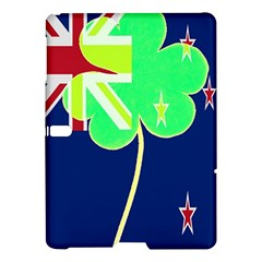 Irish Shamrock New Zealand Ireland Funny St  Patrick Flag Samsung Galaxy Tab S (10 5 ) Hardshell Case  by yoursparklingshop