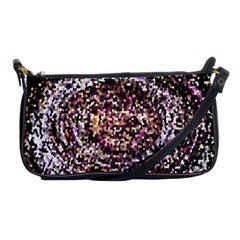 Mosaic Colorful Abstract Circular Shoulder Clutch Bags by Amaryn4rt