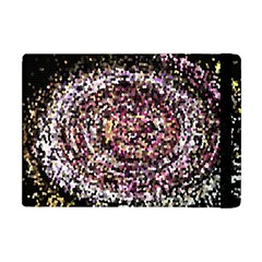 Mosaic Colorful Abstract Circular Apple Ipad Mini Flip Case by Amaryn4rt