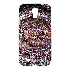 Mosaic Colorful Abstract Circular Samsung Galaxy S4 I9500/i9505 Hardshell Case by Amaryn4rt