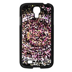 Mosaic Colorful Abstract Circular Samsung Galaxy S4 I9500/ I9505 Case (black) by Amaryn4rt