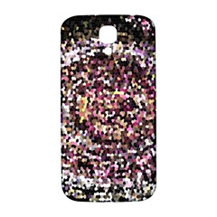 Mosaic Colorful Abstract Circular Samsung Galaxy S4 I9500/i9505  Hardshell Back Case by Amaryn4rt
