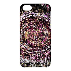 Mosaic Colorful Abstract Circular Apple Iphone 5c Hardshell Case by Amaryn4rt