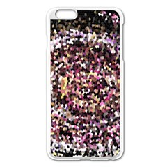 Mosaic Colorful Abstract Circular Apple Iphone 6 Plus/6s Plus Enamel White Case by Amaryn4rt