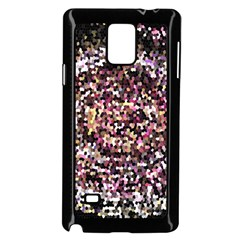 Mosaic Colorful Abstract Circular Samsung Galaxy Note 4 Case (black) by Amaryn4rt