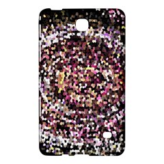 Mosaic Colorful Abstract Circular Samsung Galaxy Tab 4 (7 ) Hardshell Case  by Amaryn4rt