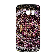 Mosaic Colorful Abstract Circular Galaxy S6 Edge by Amaryn4rt