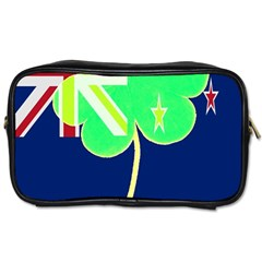 Irish Shamrock New Zealand Ireland Funny St Patrick Flag Toiletries Bags