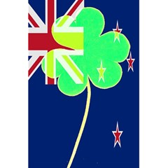 Irish Shamrock New Zealand Ireland Funny St Patrick Flag 5 5  X 8 5  Notebooks by yoursparklingshop